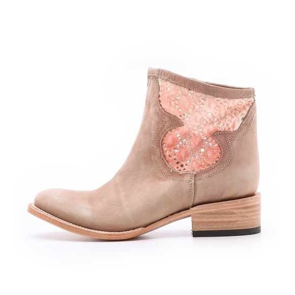 Freebird by Steven Shoes - FREEBIRD ankle bootie cabcro leather lace western